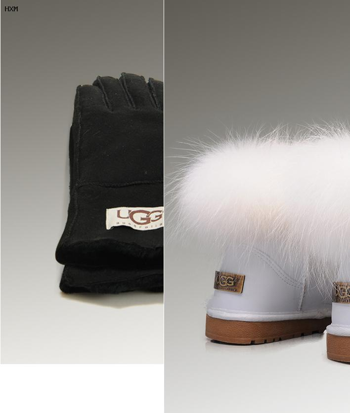 silberne ugg boots